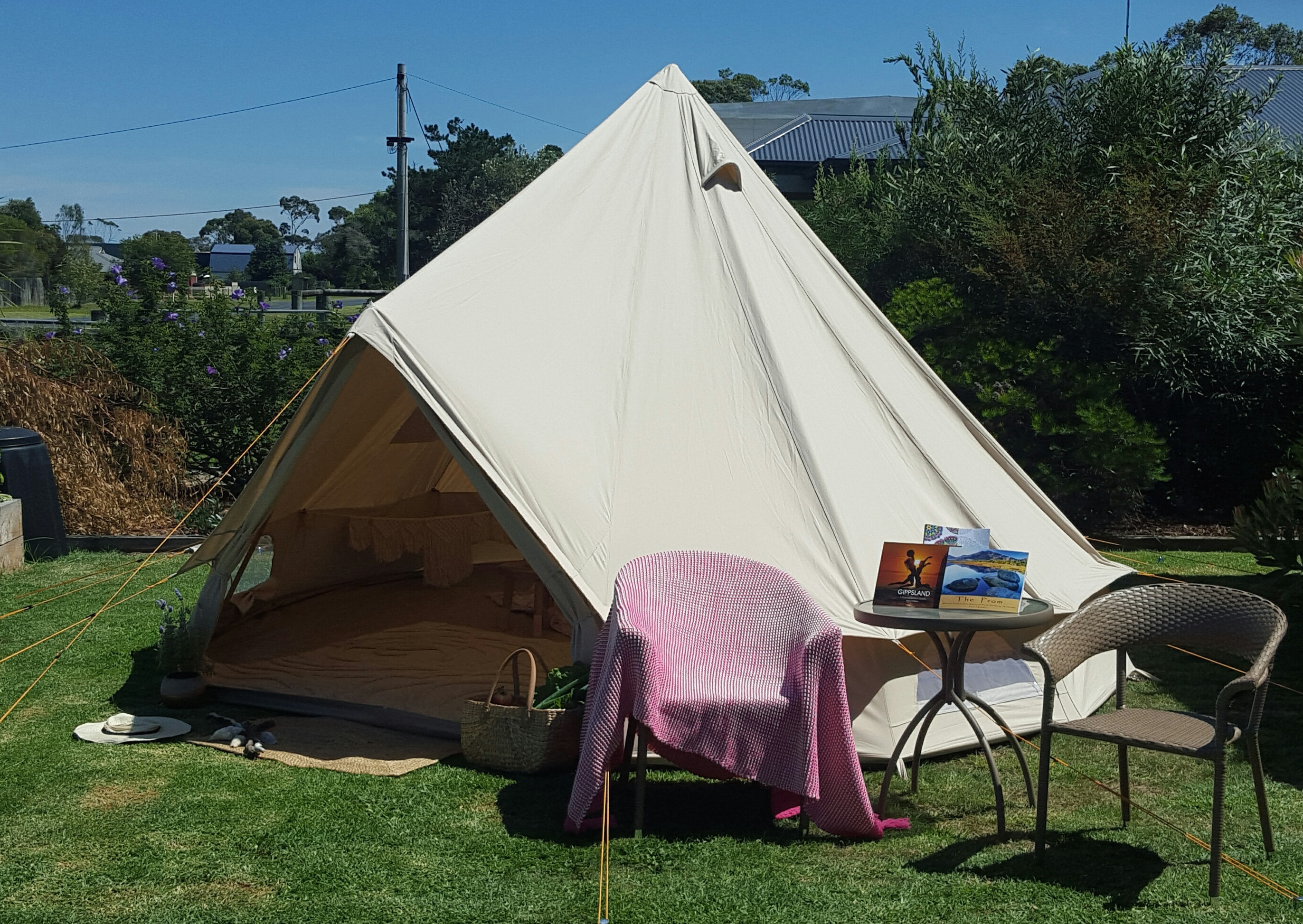 Lotus Belle 5m Deluxe Outback Tent & Our Tents u2013 Prom Coast Eco Glamping