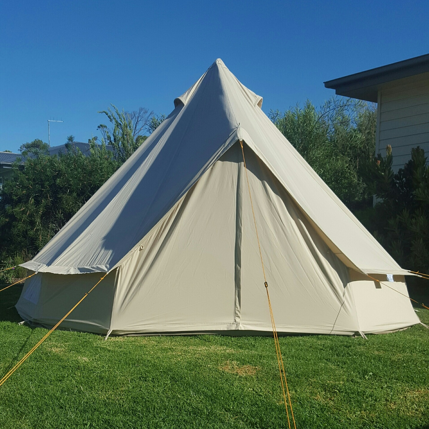 SoulPad 4m Hybrid-G Tent & Our Tents u2013 Prom Coast Eco Glamping